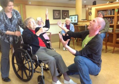Wheelchair Dance Moment