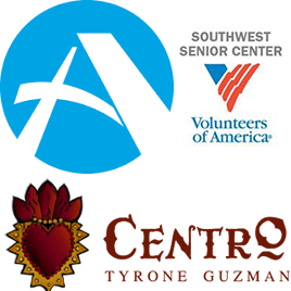 Augustana Open Circle, Southwest Senior Center, Centro Tyrone Guzman